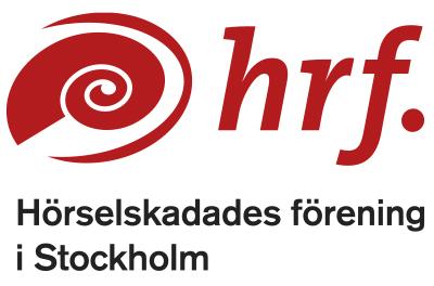 logo hörselskadades förening i Stockholm